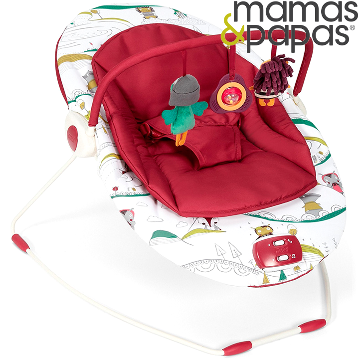 Mamas & Papas Capella Bouncer Бебешки шезлонг Babyplay New